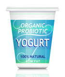 Probiotic yogurt.