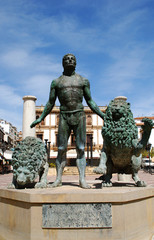 Bronze Statue, Ronda, Spain © Arena Photo UK