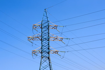 energy: high voltage tower