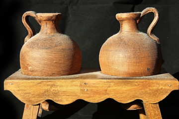 jars of clay for pottery