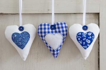 Drei bayerische Herzen