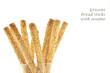 grissini bread sticks with sesame