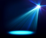 Fototapety Abstract image of concert lighting