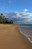 Sandy kaanapali beach in west Maui