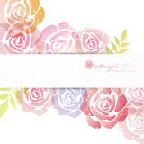 Fototapety rose background