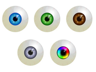 set of eyeballs