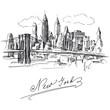 Fototapeten,new york city,manhattan,skyscraper,hauptstädtisch