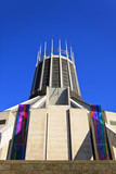 The Roman Catholic Metropolitan Cathedral of Liverpool, UK poster