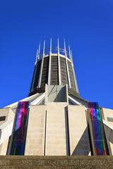 The Roman Catholic Metropolitan Cathedral of Liverpool, UK