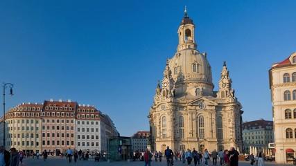 Frauenkirche Dresden timelapse