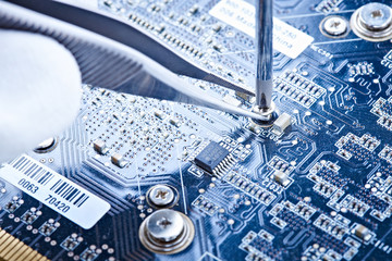 notebook repair printed circuit board