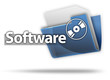"3D Style Folder Icon ""Software"""