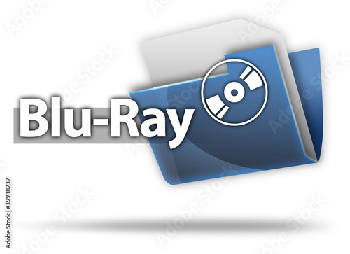 "3D Style Folder Icon ""Blu-Ray"""