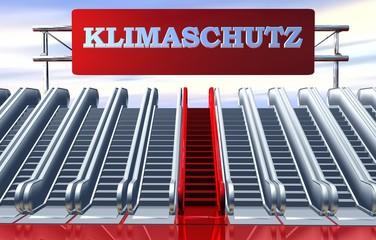 3D Rolltreppe - KLIMASCHUTZ