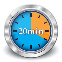20 MINUTES ICON