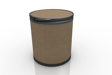 Cardboard barrel