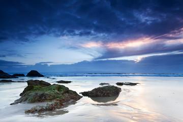 miami beach at dawn