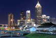 Midtown Atlanta Skyline at Night