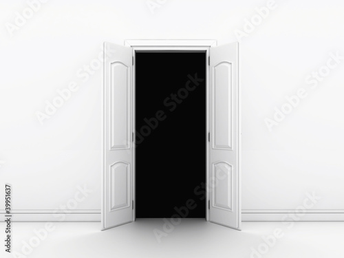 open door in that terrible to go