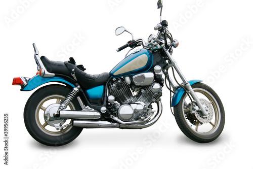motocykl-na-bialym-tle