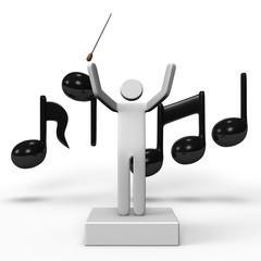 MusicalConductorAndMusicalNote