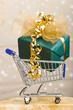 Großes Geschenk im Warenkorb