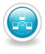 "Light Blue Icon ""Network"""