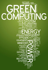 "Word Cloud ""Green Computing"""