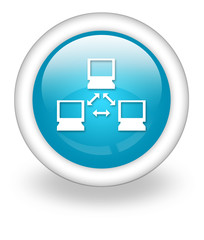"Light Blue Icon ""Network"""