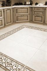 Beautiful marble floor