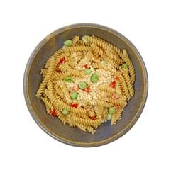Prepared Rotini Pasta and Vegetable Meal