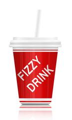 Fizzy drink.