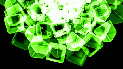 green ice block,crystal jewelry necklace,flying glass boxes