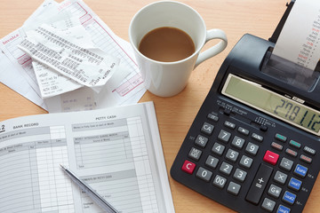 Bookkeeping sales ledger