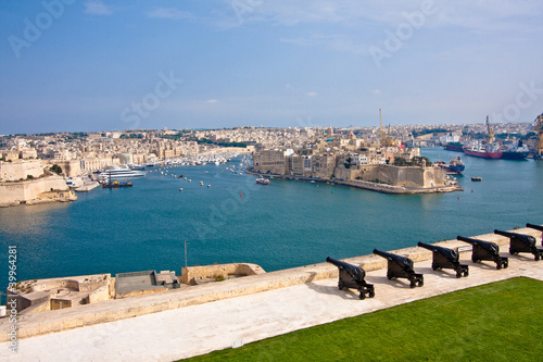 View Of Grand Harbour In Valletta, Malta