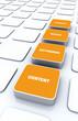 3D Pads Orange - Keywords Design Content Ranking 2