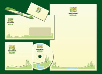 Ready to use mountain hotel, resort, ethno company style
