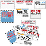 Store sale coupons for savings ads