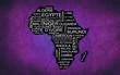 Afrique (Violet)