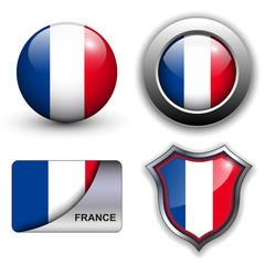 France flag icons