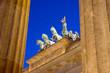 Different view of Berlins Brandenburger Tor