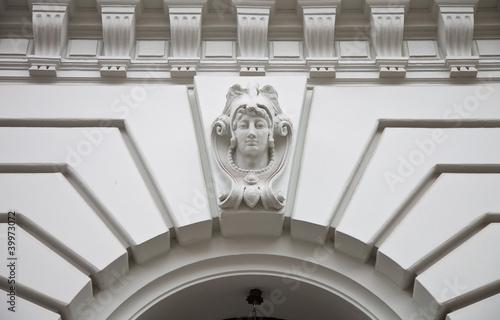 Leinwanddruck Bild Haus - Altbau - Berlin