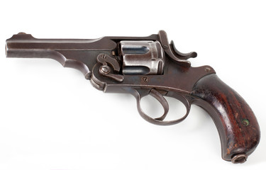 rusty pistol