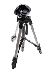Tripod on white