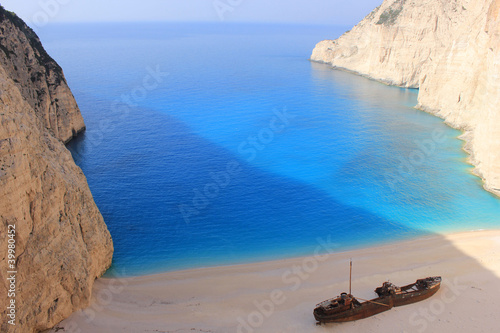 SHIPWRECK at Zante, Greece