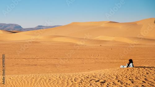 Fototapeten,sanddünen,sahara,morocco,einsamkeit