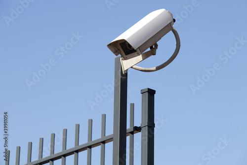 Videoüberwachung - Zaun