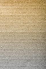 Brown corrugated cardboard