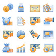 Icons for web blue orange series 7
