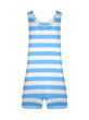 Striped retro swimsuit